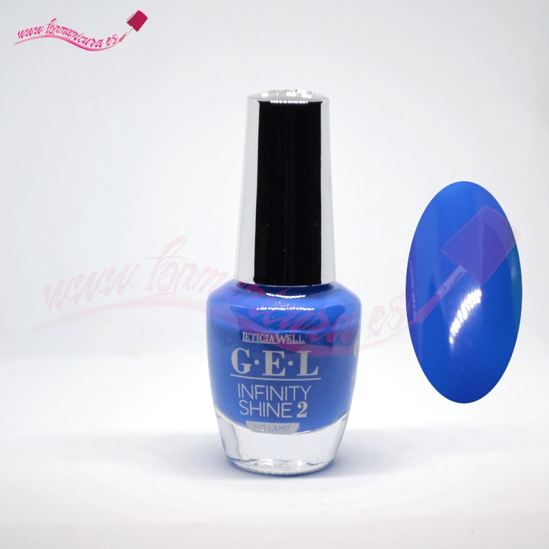Esmalte de gel uñas infinity shine 2 Leticia Well 60