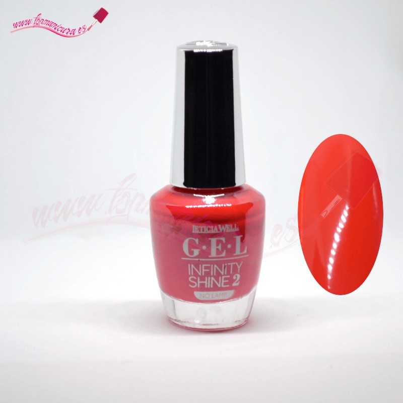 Esmalte de gel uñas infinity shine 2 Leticia Well 61