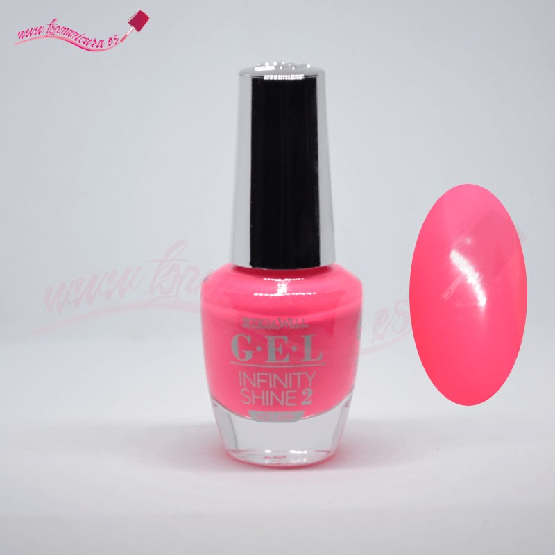Esmalte de gel uñas infinity shine 2 Leticia Well 63