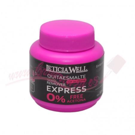 Quitaesmalte Removedor express Leticia Well 00