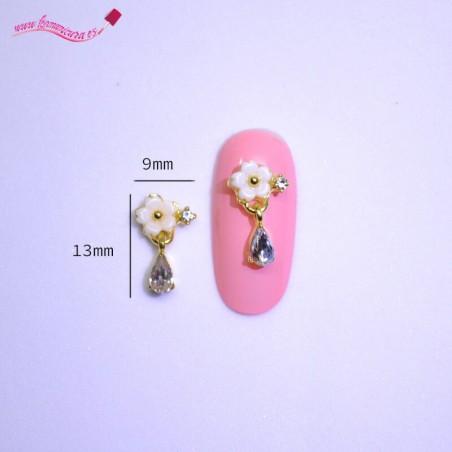 Adornos de uñas 3d flores 1