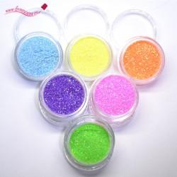 Pack azúcar uñas glitter 1