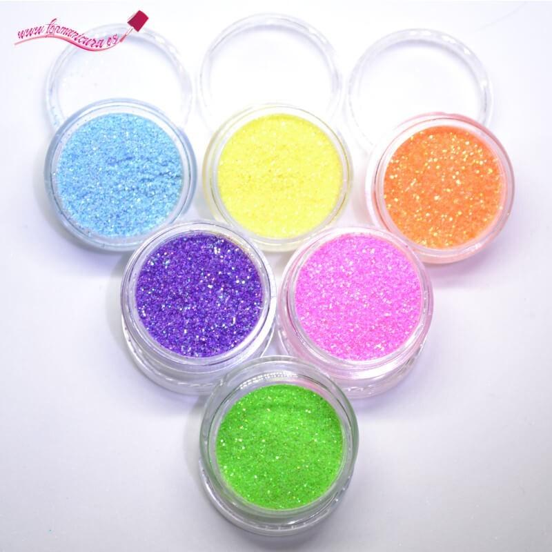 Pack azúcar uñas glitter